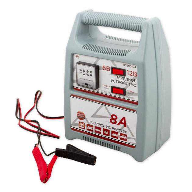Зарядное устройство 6В/12В 8А 28-120Ач 220В ARNEZI R7990103