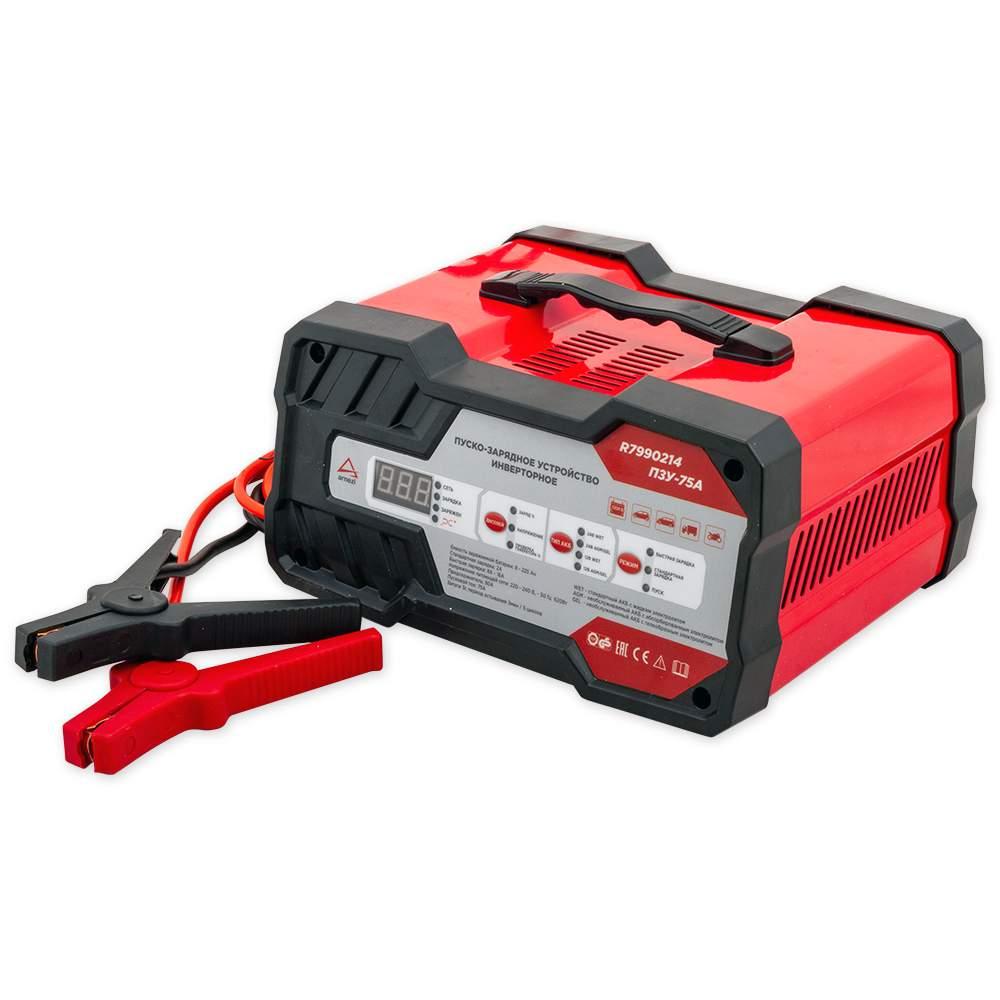Зарядно-пусковое устройство ПЗУ-75А 12В/24В 16А ARNEZI R7990214