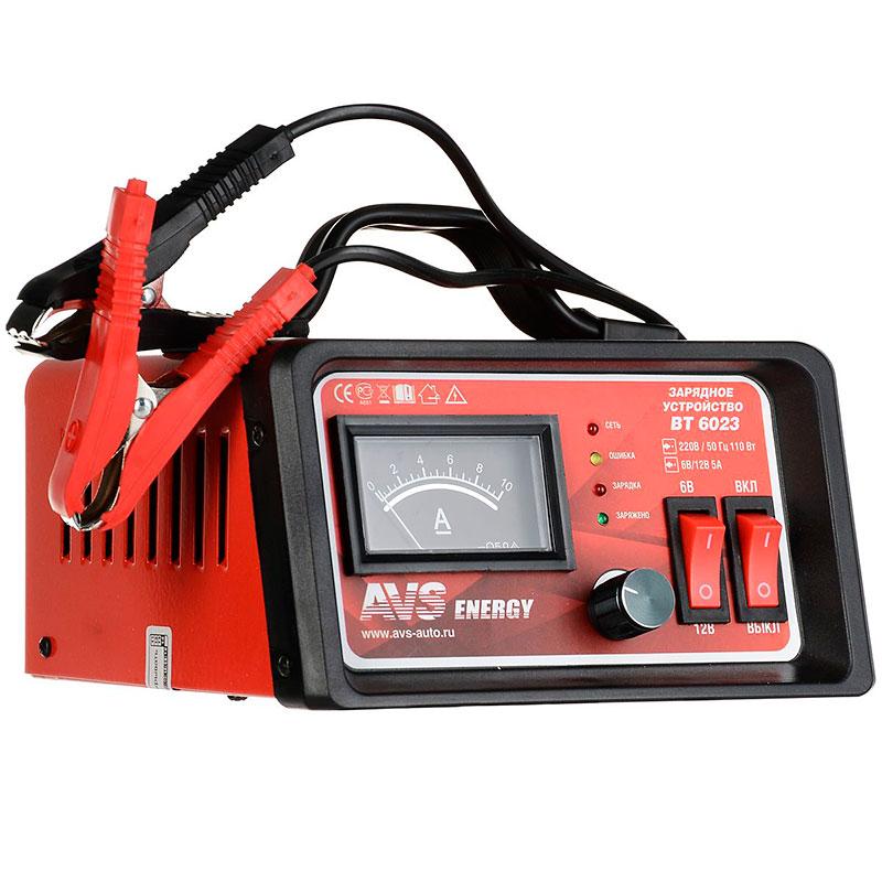 Устройство зарядное для АКБ AVS BT-6023 (5A) 6/12V