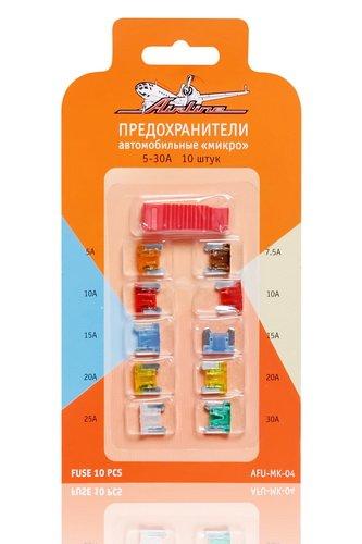 Предохранители  микро  в блистере  с экстрактором (10 шт. 5-30А)