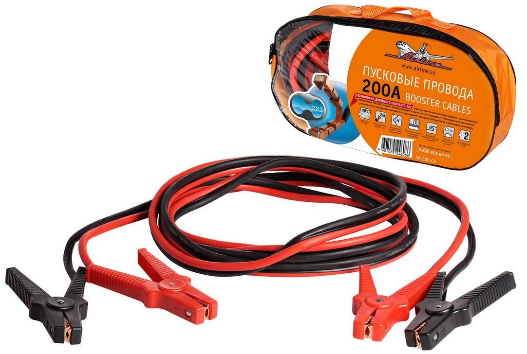 Провода прикуривания 200А (2м. 12В)