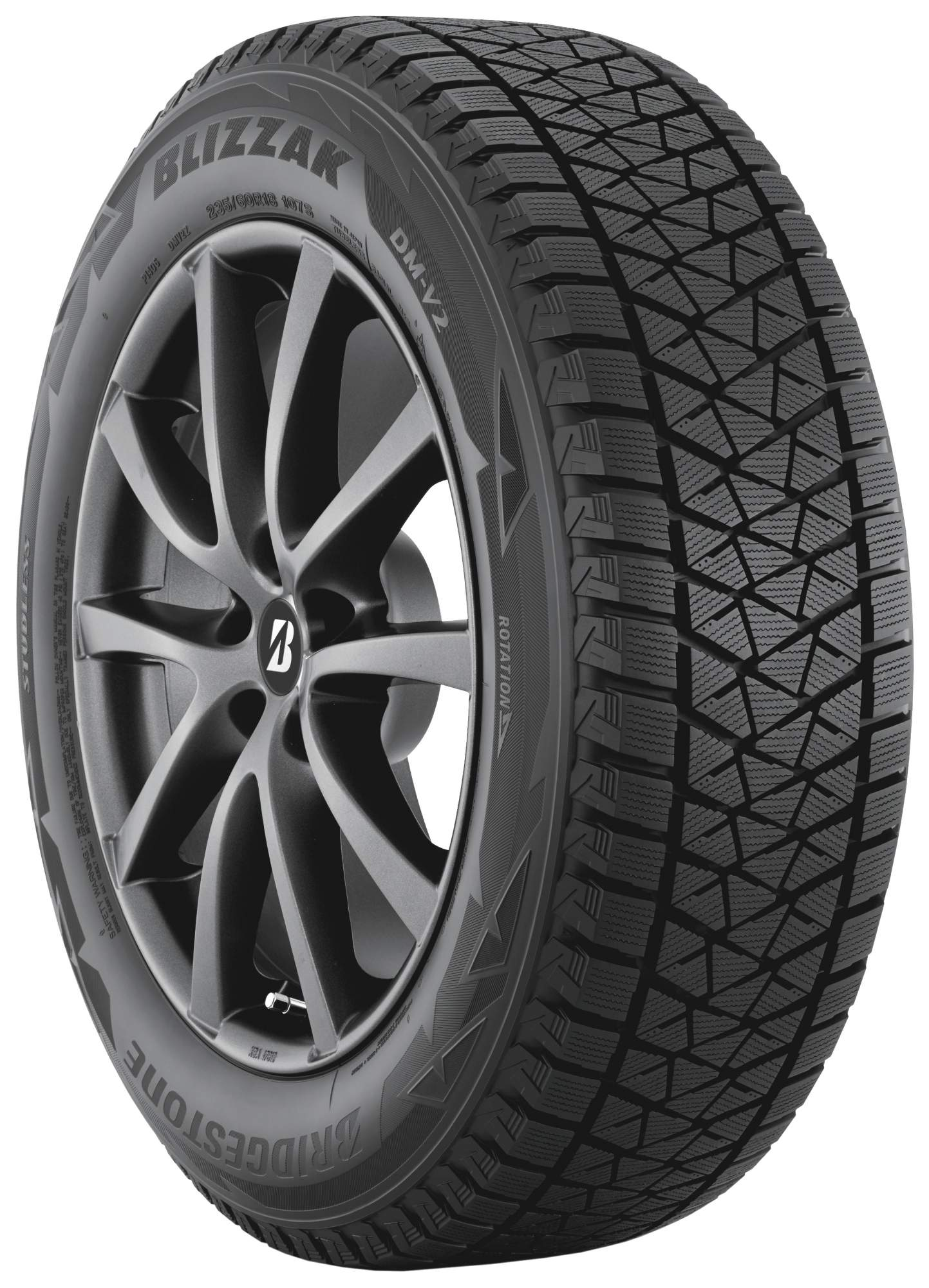 Автошина R17 265/65 Bridgestone Blizzak DM-V2 112R (зима)