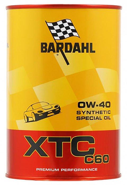 Масло моторное синт. XTC C60 0W-40 (1л)