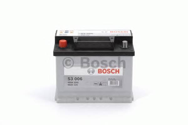 АКБ Bosch S3 /12V 56A/h 480A 242x175x190 L(+-) T1 B13