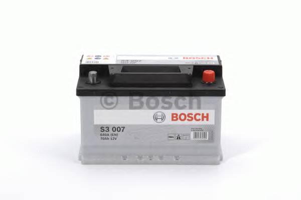 АКБ Bosch S3 /12V 70A/h 640A 278x175x175  R(+справа) T1 B13