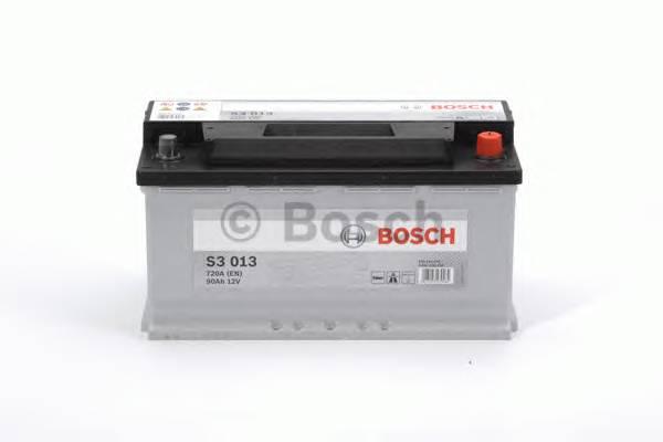 АКБ Bosch S3 /12V 90A/h 720A 353x175x190  R(+справа) T1 B13