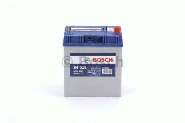 АКБ Bosch S4 Silver/12V ASIA 40A/h 330A 187x127x227  R(+справа) T3 B00