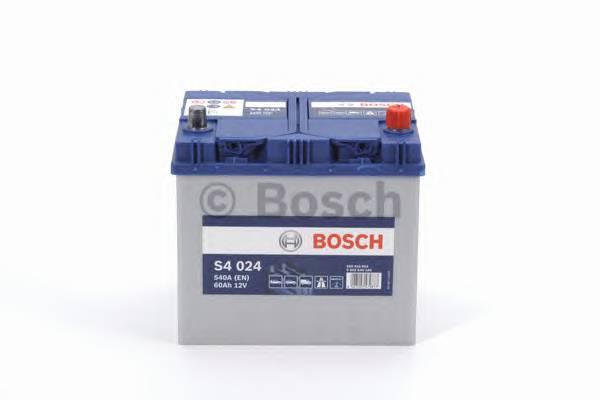 АКБ Bosch S4 Silver/12V ASIA 60A/h 540A 232x173x225  R(-+) T1 B00