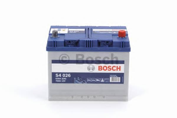 АКБ Bosch S4 Silver/12V ASIA 70A/h 630A 261x175x220  R(+справа) T1 B01