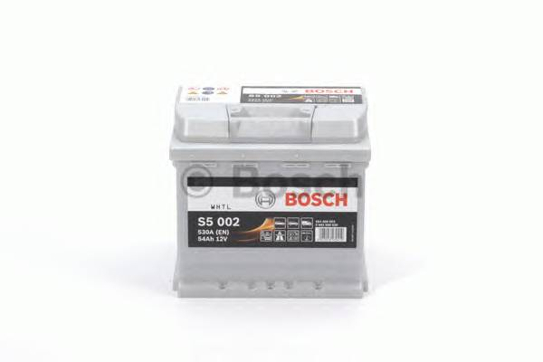 АКБ Bosch S5 Silver Plus/12V 54A/h 530A 207x175x190  R(+справа) T1 B13
