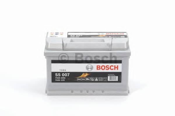 АКБ Bosch S5 Silver Plus/12V 74A/h 750A 278x175x175  R(+справа) T1 B13