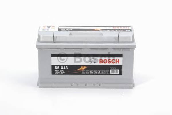 АКБ Bosch S5 Silver Plus/12V 100A/h 830A 353x175x190  R(+справа) T1 B13