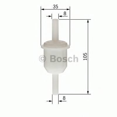Фильтр топливный MB W201 2.0D 2.5D TD 83-93-