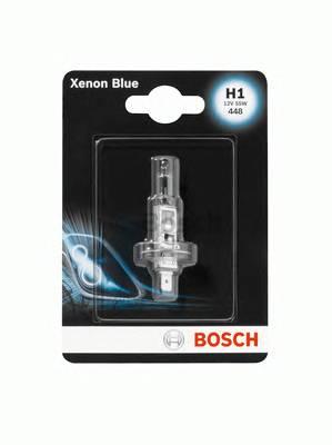 Лампа H1 12V 55W  Xenon Blue блистер