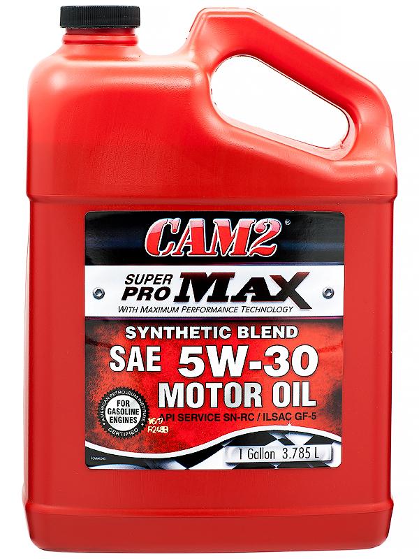 Мотороное масло энергосбер CAM2 SuperPRO MAX SYNTHETIC BLEND 5W30 SN-RC/GF-5  3.