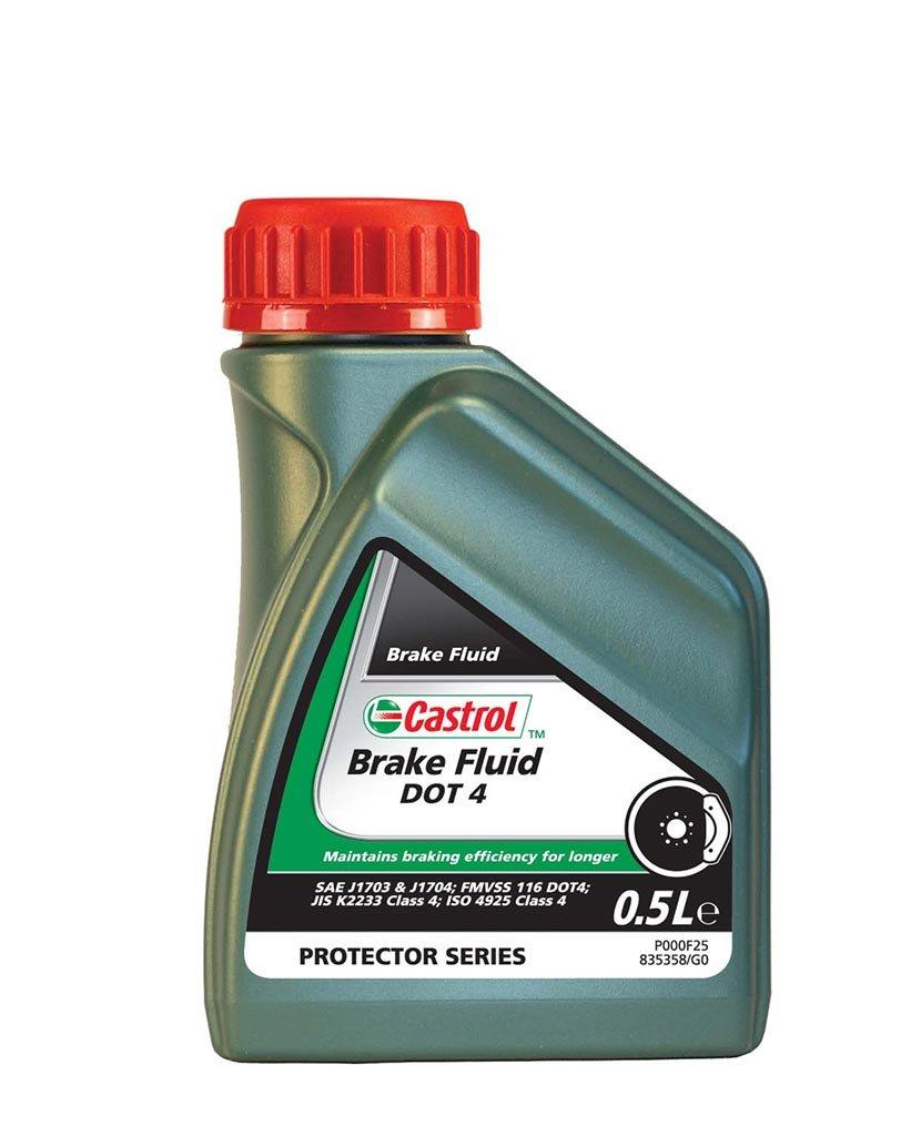 Жидкость тормозная CASTROL Brake Fluid DOT4 (0.5л)