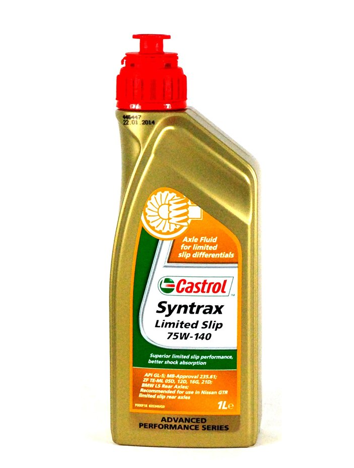 Масло трансм CASTROL Syntrax Limited Slip 75W-140  (1л)