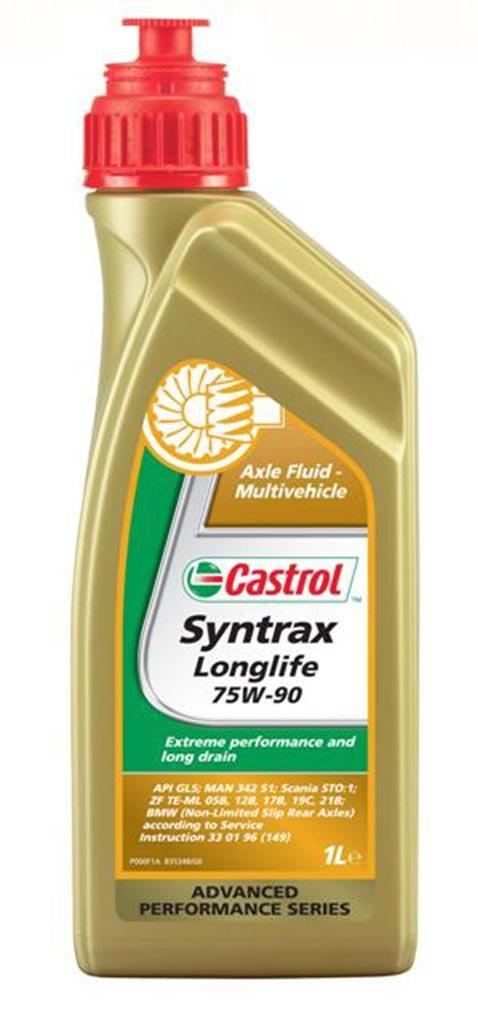 Масло трансм Castrol Syntrax LL 75W-90 GL-5 (1л)
