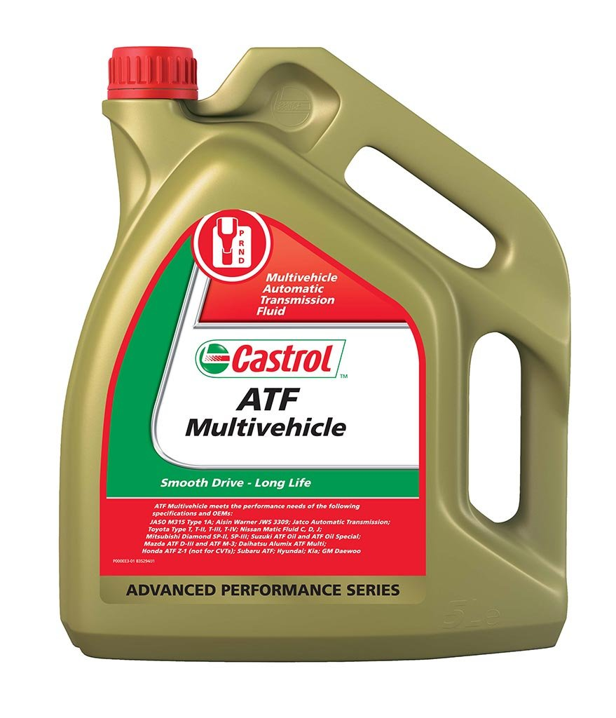 Масло трансм CASTROL ATF Multi-Vehicle (5л)