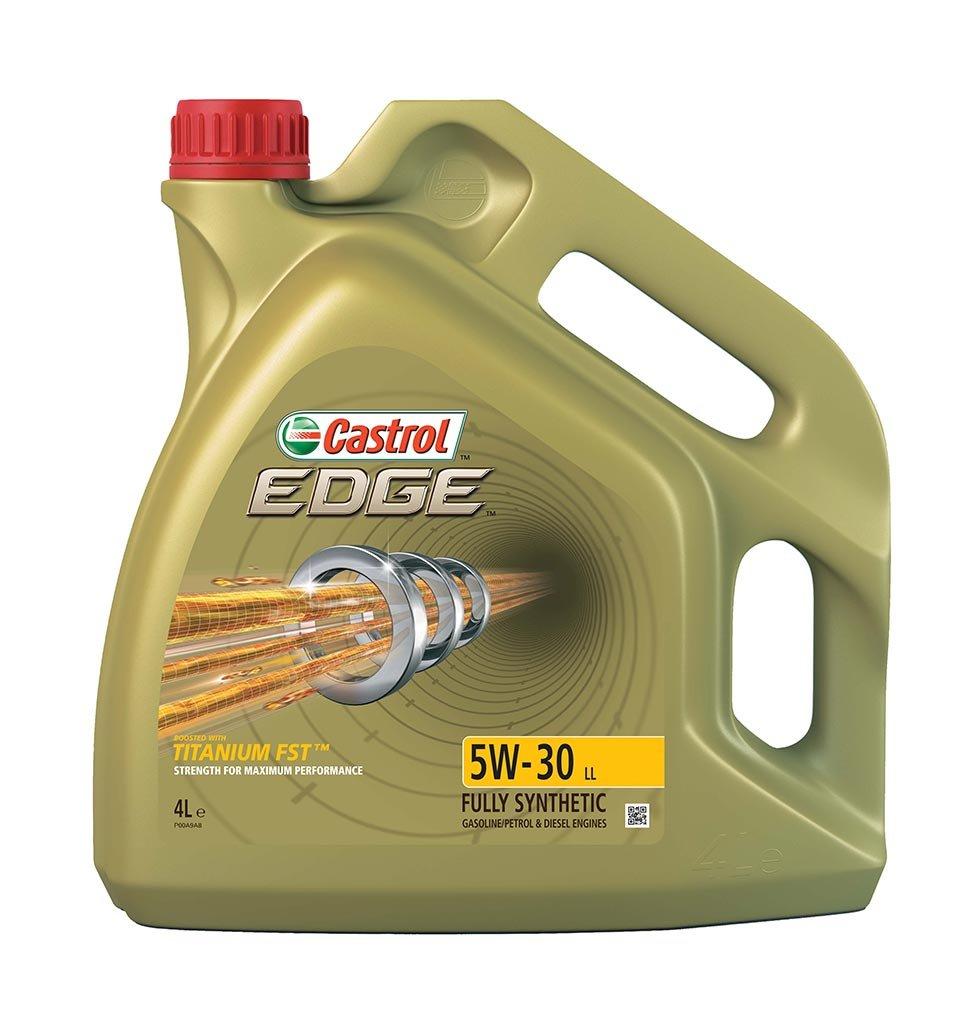 Масло моторное CASTROL EDGE Titanium FST 5W-30 син (4л)