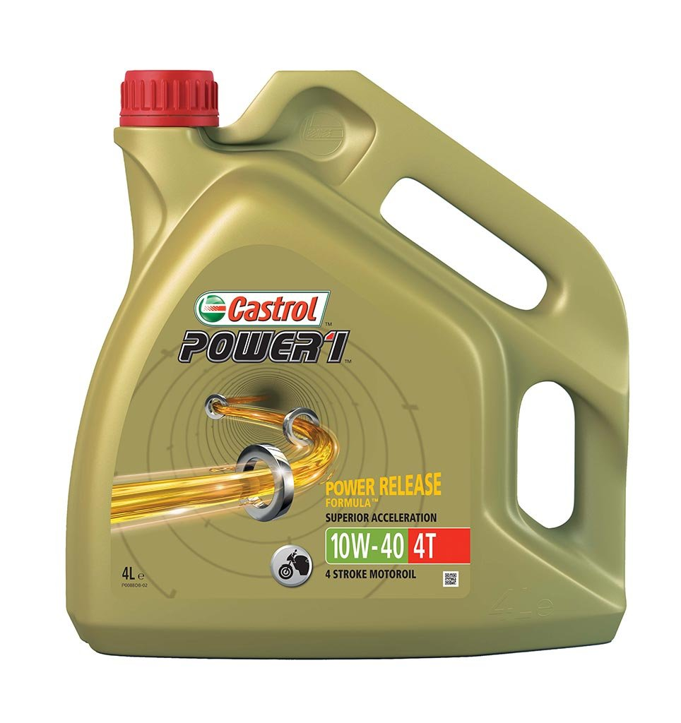 Масло мото CASTROL Act evo 4T 10W-40 (4л)
