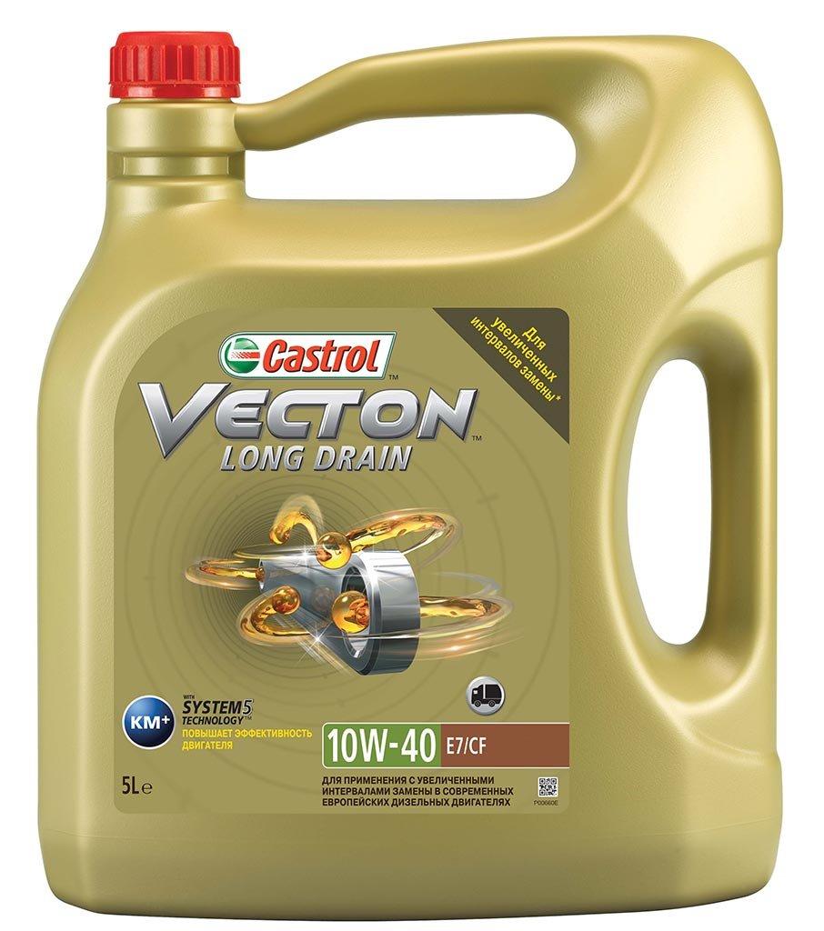 моторн. масло для коммер. техники 157AEF Castrol  Vecton Long Drain 10w40  E7  (