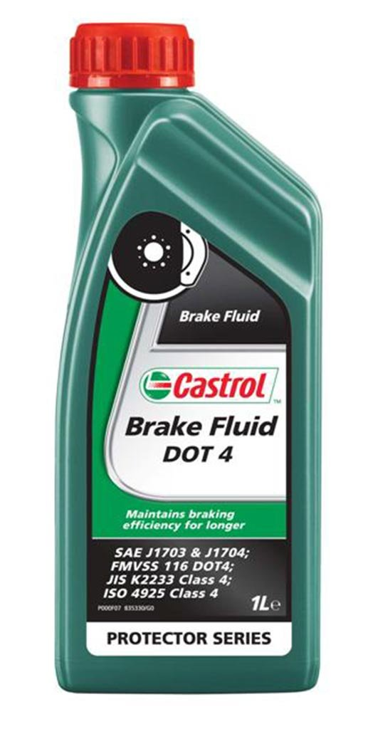 Жидкость тормозная CASTROL Brake Fluid DOT 4 (1л)
