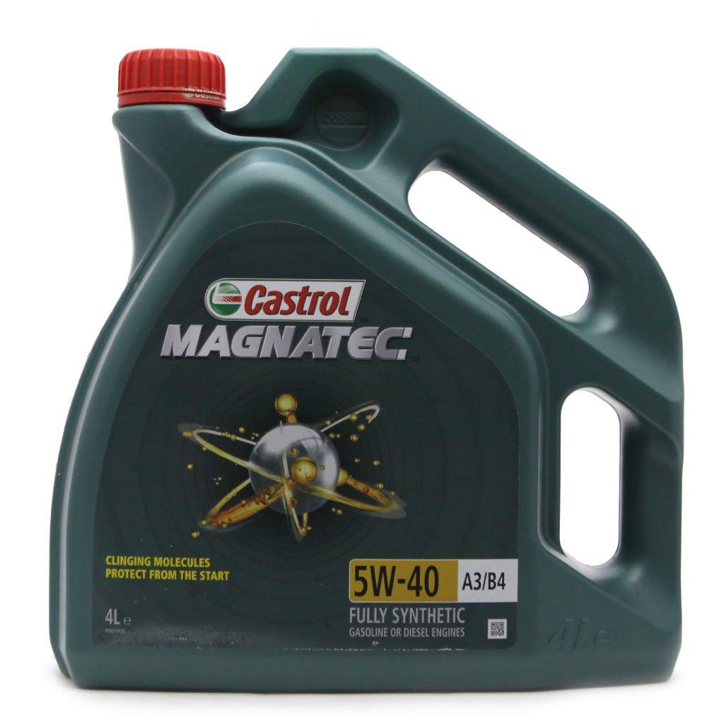 Масло моторное CASTROL Magnatec 5W-40 A3 B4 (4л)