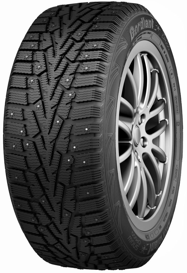Автошина R13 155/70 Cordiant Snow Cross PW-2 75Q (шип)