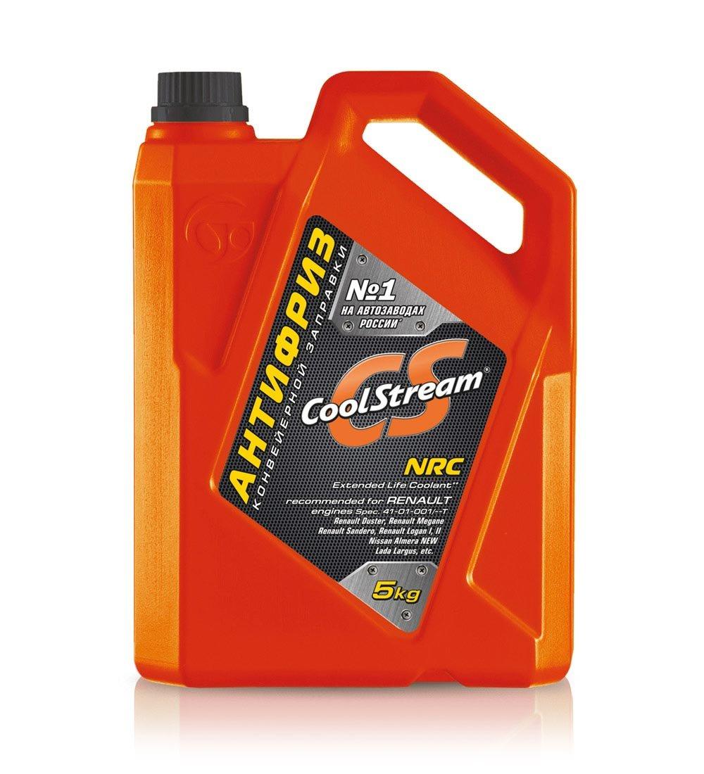 Антифриз CoolStream NRC канистра (5 кг) желтый