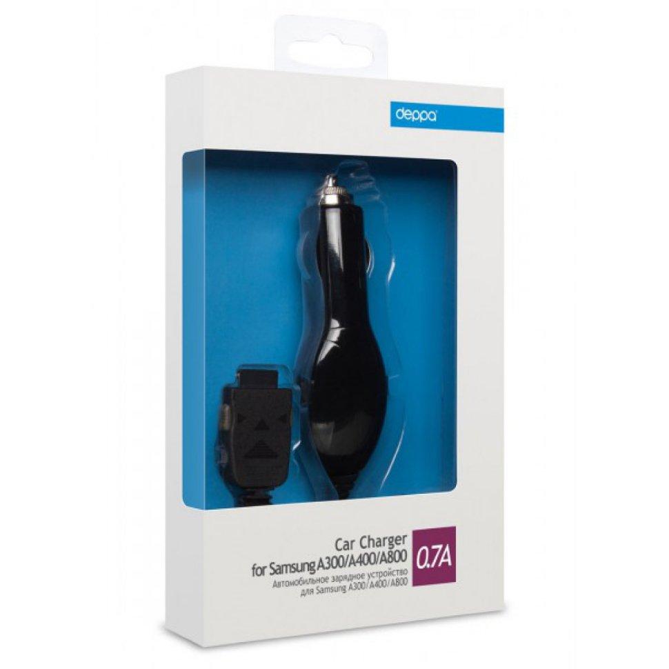 22115 АЗУ для Samsung A300 A400 A800. 0.7А. черный. Deppa