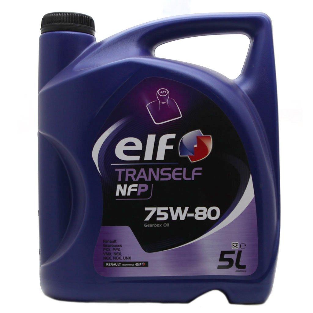Масло трансм ELF Tranself NFP 75W80 псинт (5л)