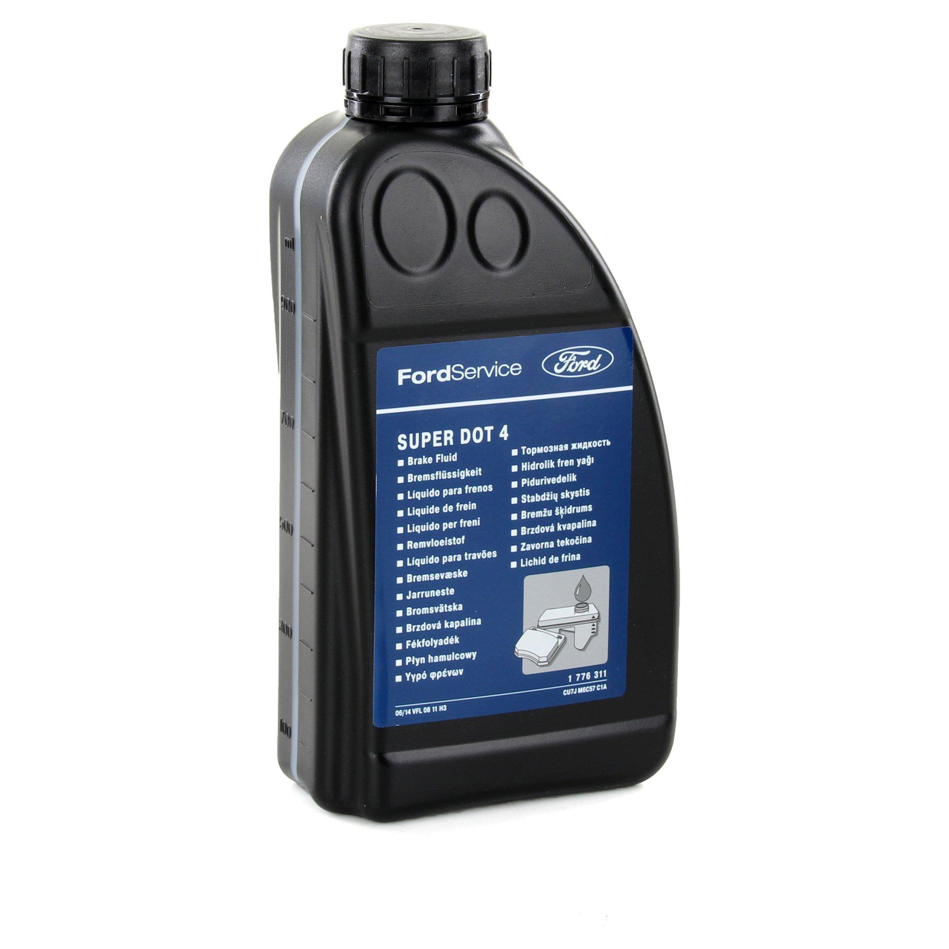 Жидкость тормозная DOT 4 Brake Fluid Super 1л