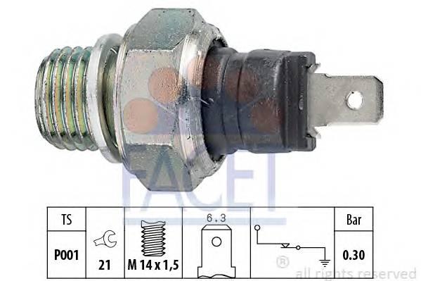 Датчик давления масла ALFA ROMEO 155 (167) 1 7 T S 1 7 T S