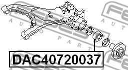 ПОДШИПНИК СТУПИЧНЫЙ ПЕРЕДНИЙ (40x72x37)