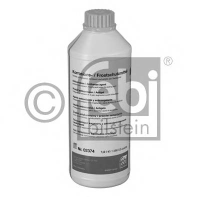 Антифриз FEBI Antifreeze G11 yellow -35С 1.5л концентрат
