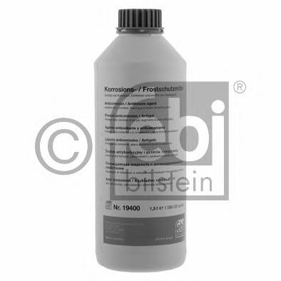 Антифриз FEBI Antifreeze G12+ -38С фиолетовый 1.5л