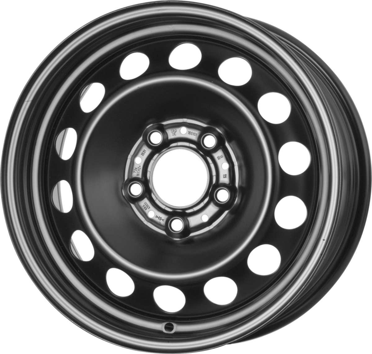 Стальной колесный диск 6jх15