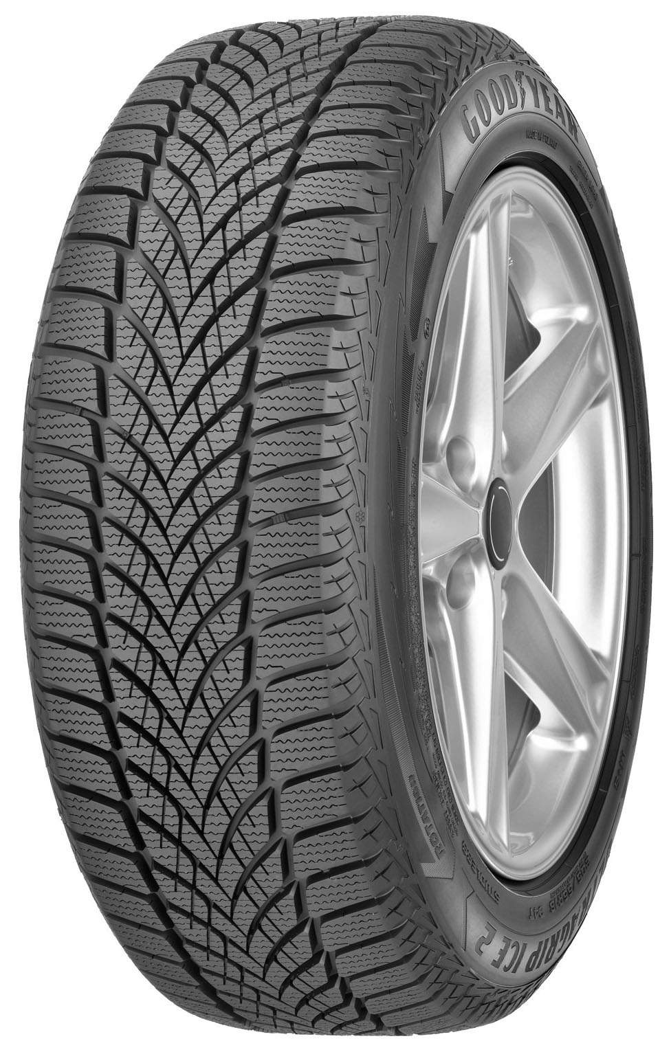Автошина R16 215/60 Goodyear UltraGrip Ice 2 99T (зима)