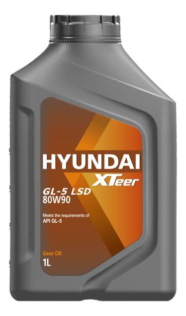 Масло Hyundai XTeer Gear Oil-5 80W90 LSD трансм. GL-5 1л
