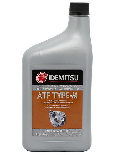 Масло трансмиссионное ATF TYPE-M 0.946л MAZDA ATF M-V