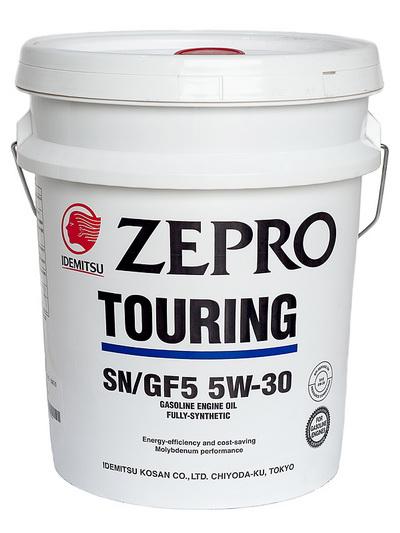 Масло моторное  IDEMITSU ZEPRO TOURING   5W30 SN GF-5  20L 1845-020