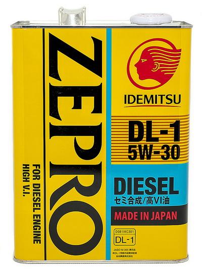 Масло моторное ZEPRO DIESEL  DL-1 5W30 ACEA C2-08 (4л)
