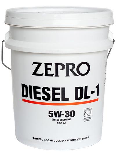 Моторное масло ZEPRO DIESEL  DL-1 5W30 ACEA C2-08 20L