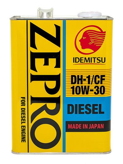 Моторное масло IDEMITSU ZEPRO DIESEL CFDH-1 10W30 (4л)