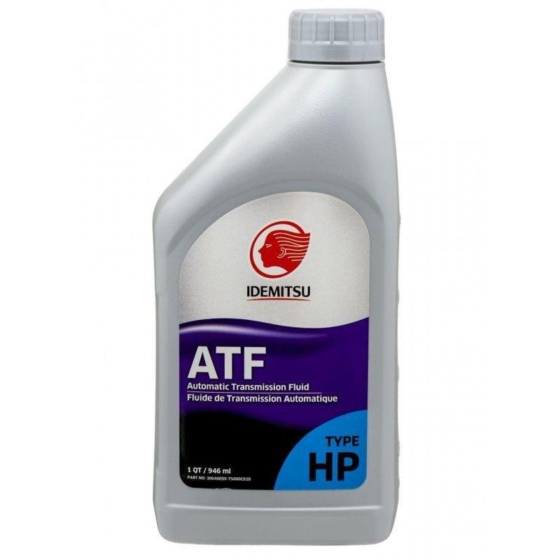 Трансмисионное масло   IDEMITSU  ATF Type-HP (0.946 л) 10107042F