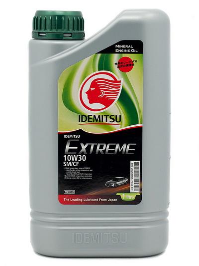 Масло моторное IDEMITSU EXTREME SM CF 10W30 1л 30065005-724