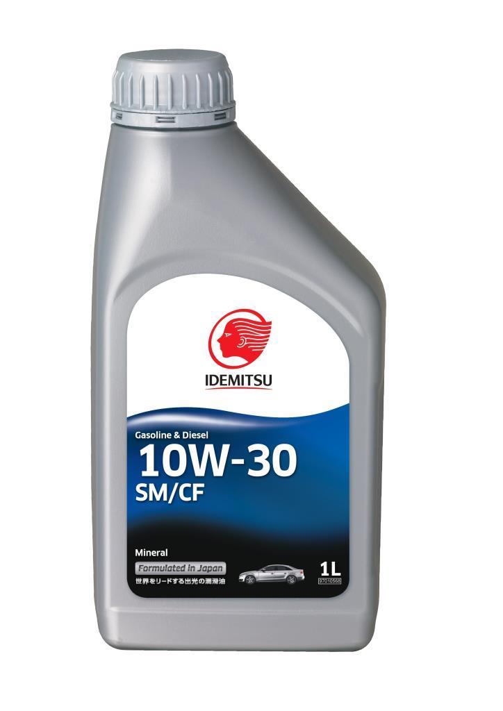 Масло моторное IDEMITSU SM/CF 10W30 1л 30065013-724
