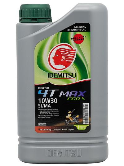 Масло моторное МОТО 4T MAX 10W30 SJ/МА ECO Mineral (1л)