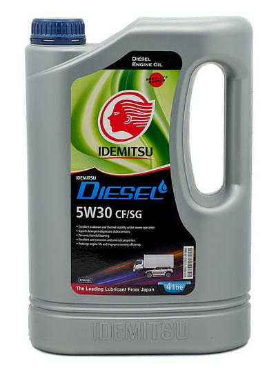 Масло моторное IDEMITSU DIESEL 5W-30 CF/SG 4л